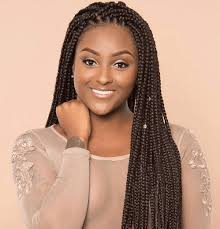 box braids hairstyle human hair or synthtic 5 steps for amazing box braids with human hair all beauty today