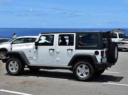 2016 jeep wrangler unlimited sport white side photos 20