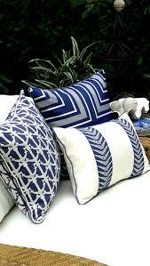 Navy Blue Outdoor Furniture Covers - karen robertson royalty collection outdoor pillows beach