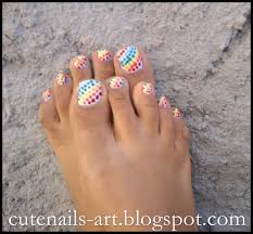 cute summer pedicure designs tools and take your rainbow colors