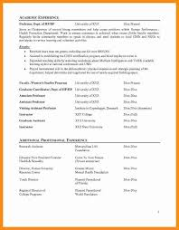 Resume Format For Experienced Assistant Professor Professor Resume Sample Resume Samples And Resume Help