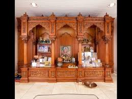 interior design for mandir in home wooden pooja room designs puja mandir designs
