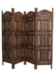 ombre antiqued wood room divider