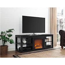 Electric Fireplace Tv by Ameriwood Furniture Parsons Electric Fireplace Tv Stand For Tvs