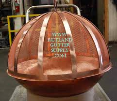 Copper Firepits Copper Pit Copper Bowl Gutter Supply