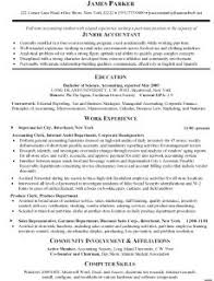 Resume Bio Examples by Examples Of Resumes 89 Appealing Good Example Accounting Resume