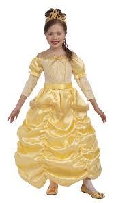 Princess Halloween Costumes Kids Amazon Forum Novelties Beautiful Princess Costume Gold