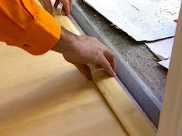 laminate flooring transition door threshold
