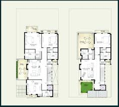 two storey house designs featuring separate granny flathouse and