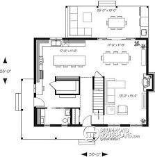 kitchen island plan house plan w4571 v1 detail from drummondhouseplans com