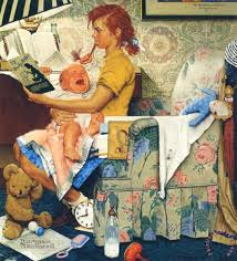 norman rockwell painting print for sale