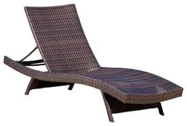 Outdoor Chaise Lounges Lakeport Outdoor Adjustable Chaise Lounge Tropical Outdoor