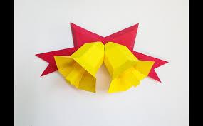 diy christmas bells 3d papercraft templates creative market