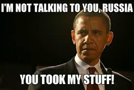 Obama Putin Meme - so obama cancelled his meeting with putin because of snowden