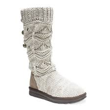 womens knit boots size 11 s boots muk luks
