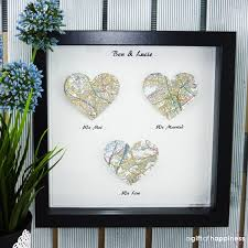 wedding gift map we met we married map print wedding gift paper anniversary with