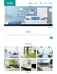Interior Design  Furniture Website Templates - Free home interior design