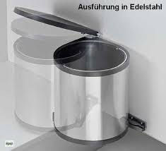 Abfalleimer Bad Wesco Edelstahl Bad Kosmetik Abfall Mülleimer Küche 11 13 15