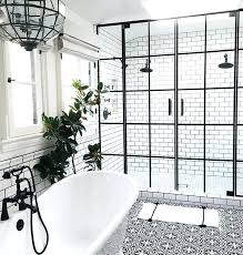 black and white tiled bathroom ideas black and white tile bathroom traditional black and white tile