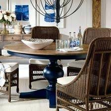 ethan allen dining room tables table pads round set craigslist