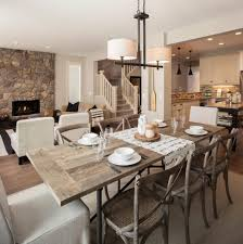 dining room fancy rustic dining room calm and airy designs 47