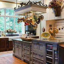 kitchen island hanging pot racks 13 great kitchens the home touches