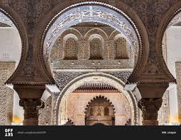 Moorish Architecture Moorish Architecture Inside The Alcazar Seville Andalusia Spain