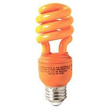ge energy smart cfl light bulbs 13 watt 60w equivalent ge lighting 78958 energy smart cfl party light 13 watt orange t3