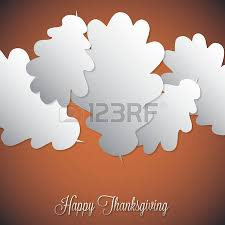 thanksgiving day menu surrounded by icons royalty free