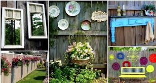 Backyard Fence Decorating Ideas Backyard Fence Decorating Ideas Decoration Diy Fence