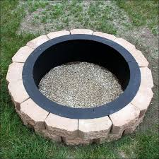 Large Fire Pit Ring by Firepits Decoration Fire Pit Liner Replacement Wood Burning Fire