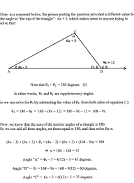 geometry finding angles of triangles mathematics stack exchange
