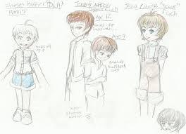tkam character sketches by mello drama reborn on deviantart