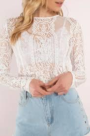 white lace blouses white top lace top lace top white crop top kr 574