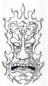 tiki coloring pages chuckbutt com