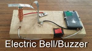 how to make an electric bell buzzer at home science projects for