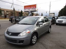 silver nissan versa used 2010 nissan versa ce for sale in scarborough ontario