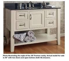 Open Shelf Bathroom Vanities Jsi Trenton 36