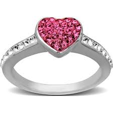 pink crystal rings images Cheap pink swarovski ring find pink swarovski ring deals on line jpg