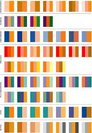 Colour Ideas Orange Color Schemes Warm Friendly Comforting Color Study