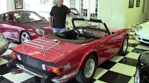 Classic Car Trader Los Angeles 1975 Triumph Tr6 Vintage Classic Collectible Tampa Bay Sports Cars