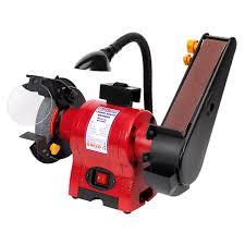 sealey bg150bs bench grinder 150mm with 50mm belt sander u0026 work