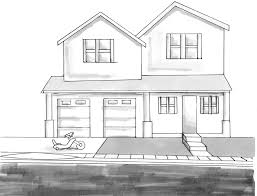 house drawings house drawing 11 pencil house portrait consulta