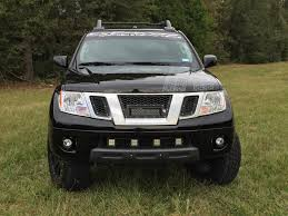 nissan frontier xe 2010 rigid industries replacement grill with light bar mounts nissan