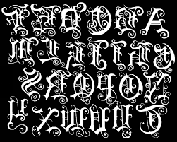 letters tattoos lettering alphabets