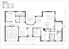 ranch floor plans with walkout basement house plan modern design of hillside house plans for your cool
