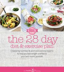 reviews on the 28 day diet u0026 exercise plan from lose baby weight
