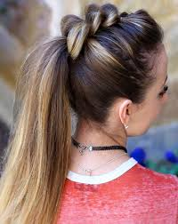 ponytail hairstyles for 29 cute ponytail hairstyles for girls 2018
