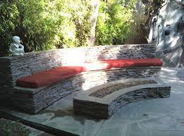 Firepit Bench Pit Bench Cushion Design And Ideas