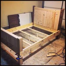 Modern Wooden Beds Bed Frames Bedroom Furniture Reclaimed Wood Wood Bed Platform
